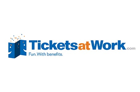 TicketsatWork Members save 5% on rentals